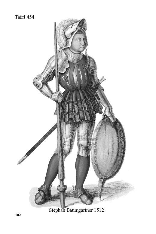 Waffentracht Anfang 16. Jahrhundert Deutschland