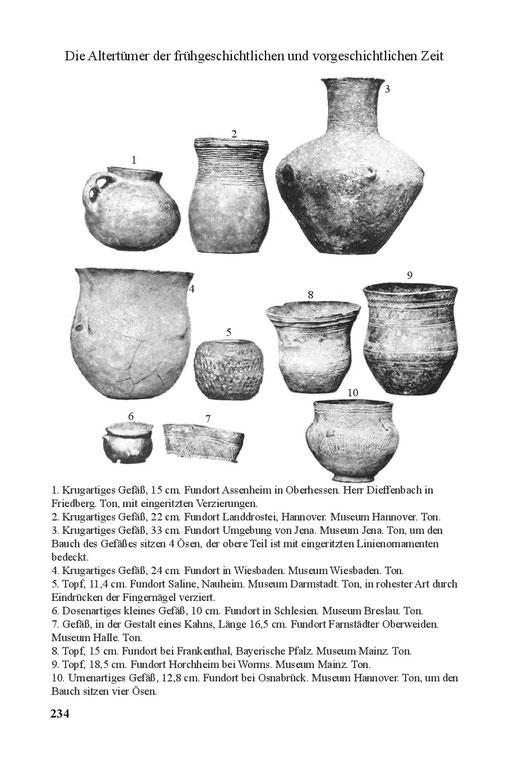 Vasen und Gefäße Antike Steinzeit Neolithikum Jungsteinzeit