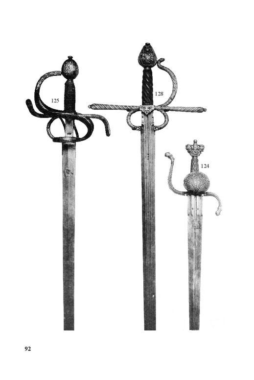 Kampfschwert, Kriegsdegen, Dolch
