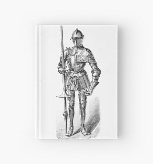 spiralbuch-notizbuch-mittelalter-ritter-krieger-knecht-soldaten-landsknecht-stechreiten-turnier-turnierreiten-pferd-held-frühmittelalter-hochmittelalter-spätmittelalter-reisig-lanze-lanzenreiter-burgfäulein-larp-burg-schloss
