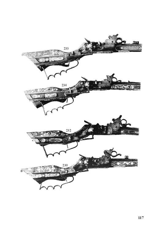 Schießwaffen, Luntengewehre, Steinschlossgewehre