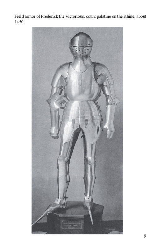 Field armor of Frederick the Victorious, count palatine in the Rhine, about 1450