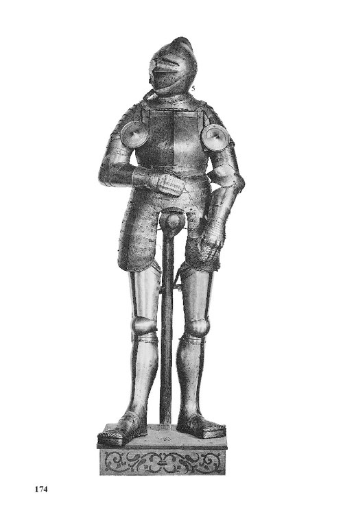 gotische Ritterrüstung