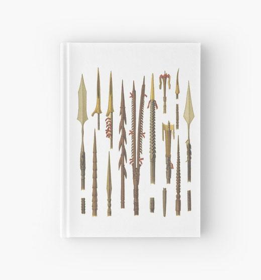 spiralbuch-notizbuch-afrika-asien-südostasien-fischfang-jagd-see-meer-fischen-fische-farpune-waljagd-wal-krieger-stamm-stammeskrieger-afrikanisch-asiatisch-südsee-sahara-nordafrika-südafrika-kongo-nil-ägypten-überfall-stammesfehde