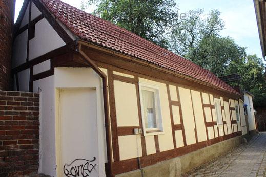 Alte Fachwerkhäuser sind im Stadtkern noch erhalten