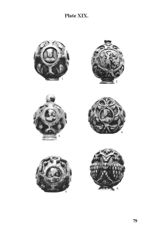diverse european sword pommels
