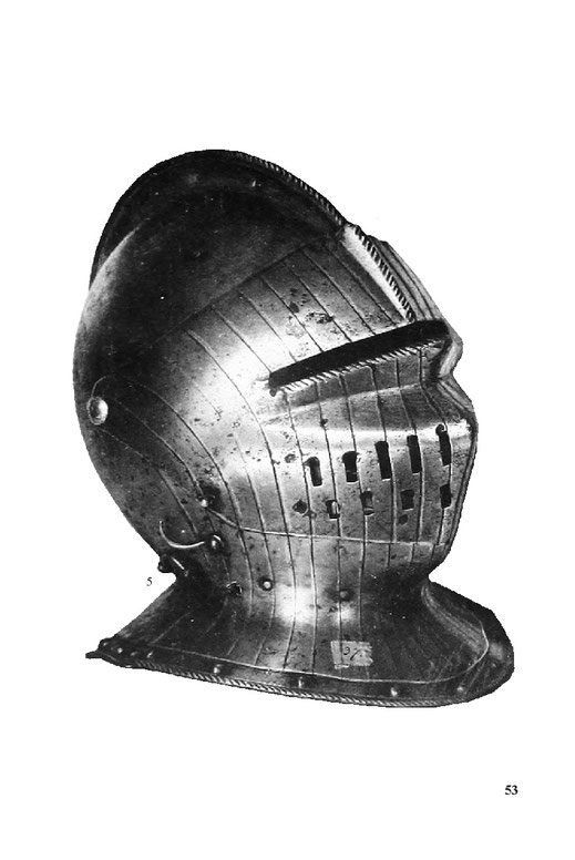 Turnierhelm, Ritterhelm geschlossen Mittelalter