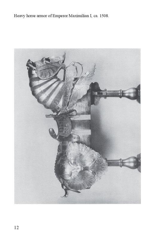 Heavy horse armor of Emperor Maximilian I, ca. 1508