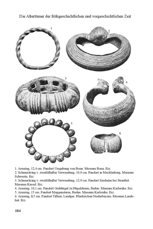 Keltische Ringe, Protomoney, Armring Bronzezeit und Eisenzeit