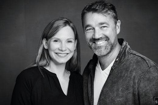Ihre Gastgeber von Juist Domizile - Konny und Axel Rippe