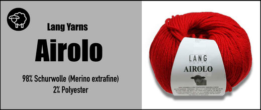 Lang Yarns Strickwolle Airolo 100% Schurwolle