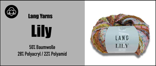 Lang Yarns Strickwolle Lily Baumwolle