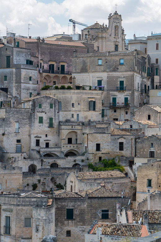 Matera, ancient walls