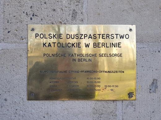 Afdeling zielenzorg van de Poolse katholieke missie te Berlijn