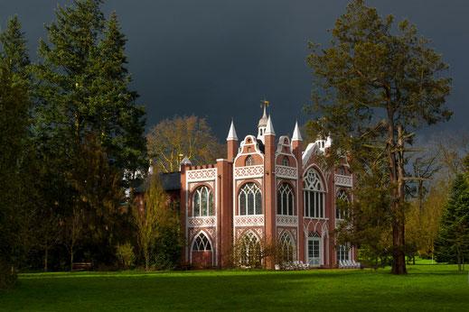 Gotisches Haus, Wörlitzer Park, Sachsen-Anhalt, Germany