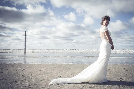 Echte Hochzeit - Sankt Peter-Ording am Strand der Nordsee
