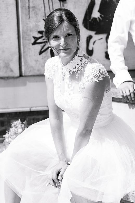Hochzeitsfotograf Hamburg - rockige Hochzeitsfotos
