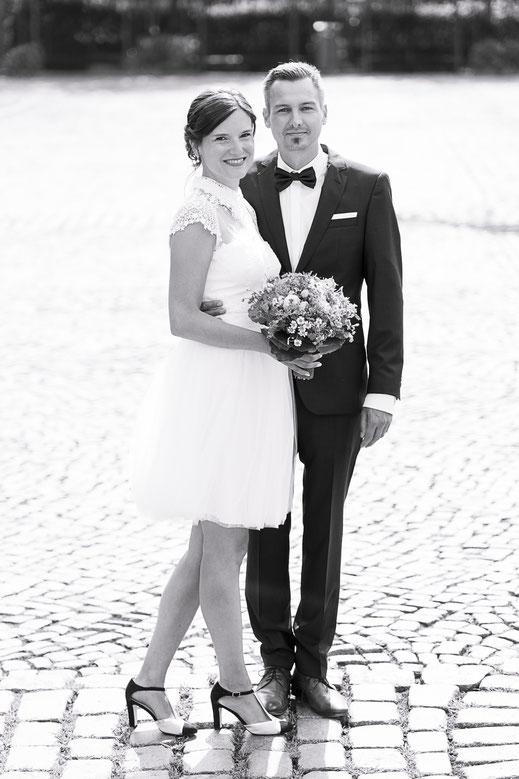 Hochzeitsfotograf Hamburg - Hohczeitsfotos vor dem Standesamt