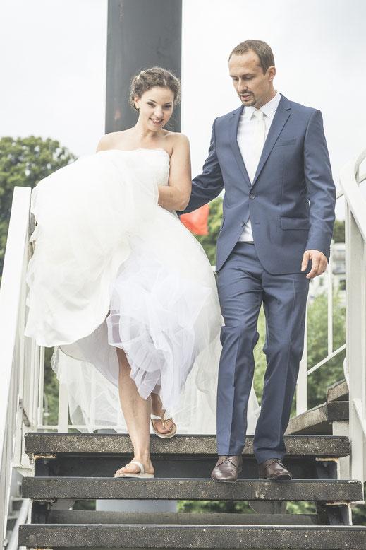 Hochzeitsfotograf Hamburg - wer braucht schon klassische Brautschuhe?