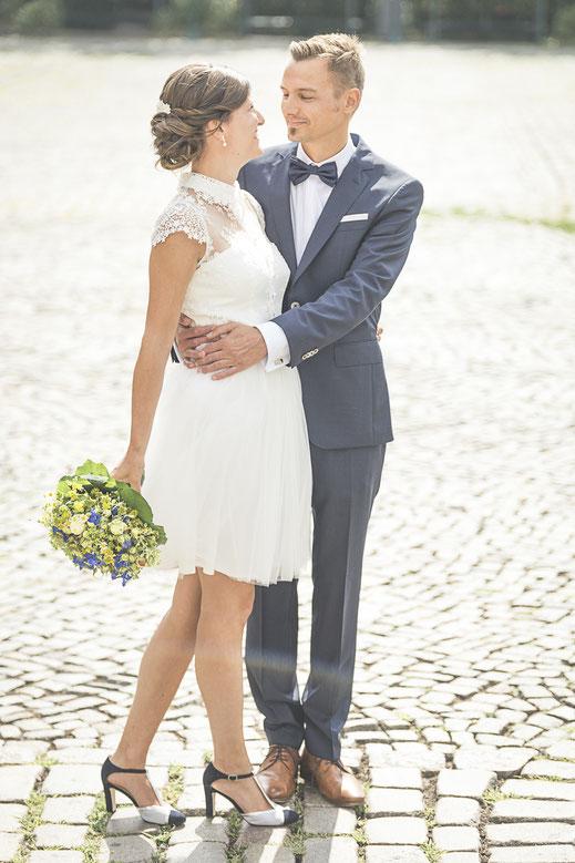 Hochzeitsfotograf Hamburg - Hochzeitsbilder vor der Trauung