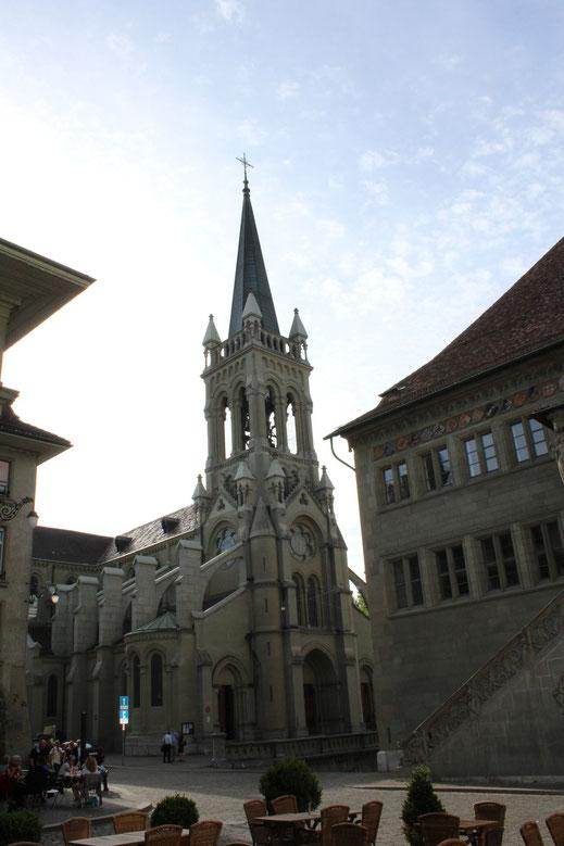 Blick über Rathausplatz