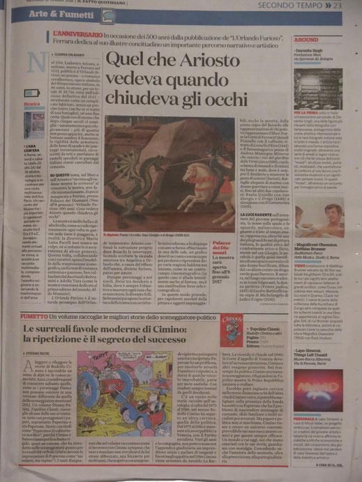 IL FATTO QUOTIDIANO, 2016