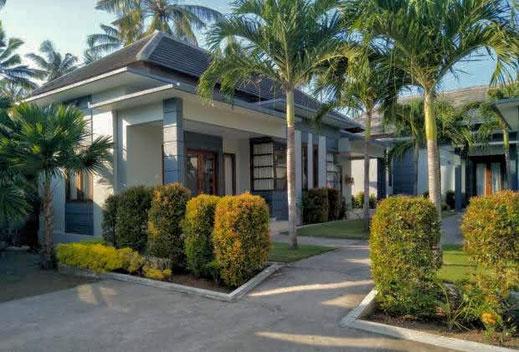 Di jual villa di Bali barat