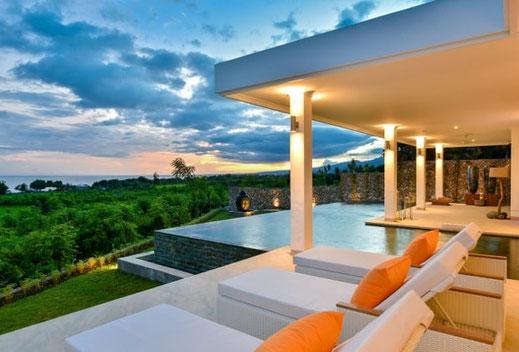 Di jual villa di Bali utara