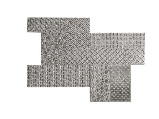 PanelPiedra - Serie Cemento - Wandpaneele für Dekoration - PR-950 Cemento Geométrico