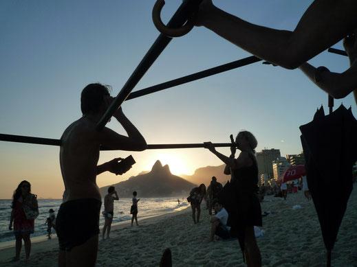 Ipanema - Rio de Janeiro - Brésil - 2012  ©Les Souffleurs commandos poétiques