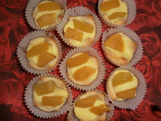 Topfen Pfirsich Muffins