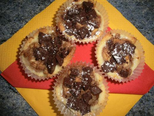 Apfel Schoko Muffins