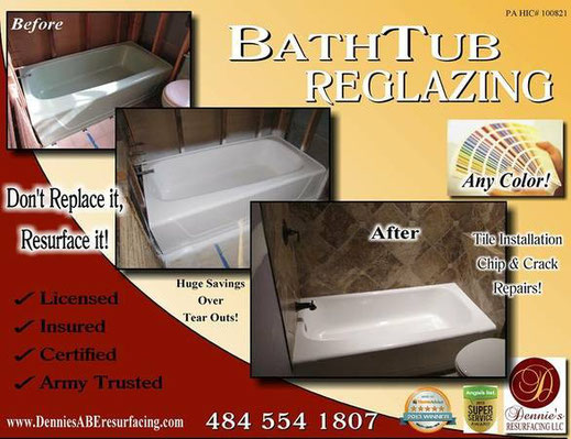 Mobile Gallery Dennie S Resurfacing Tub Amp Tile
