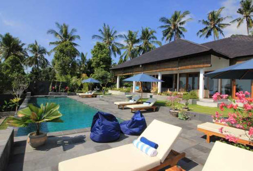 North Bali mountain villa for sale by owner including a yoga pavilion