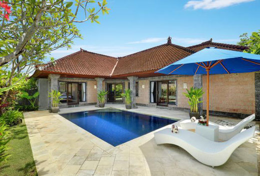 South Bali villa for rent by owner. For rent by owner