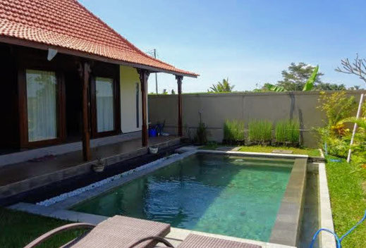 Ubud villa long term rental by owner. Villa available for yearly rental
