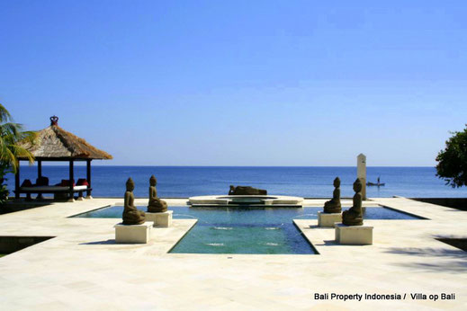 For Sale By Owner, North Bali Beachfront villa for sale.