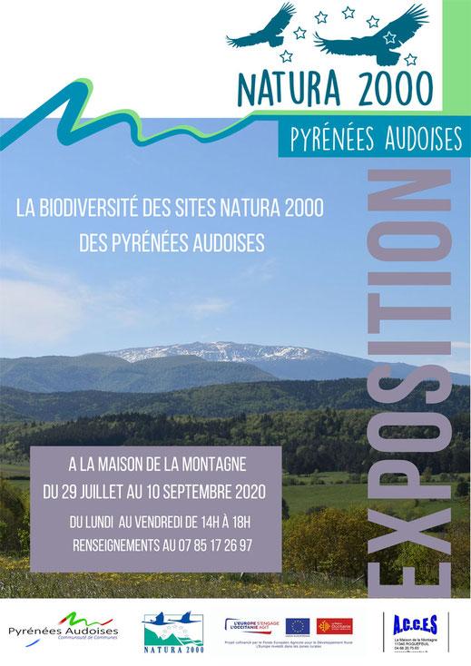 exposition Natura 2000 - Pyrénées Audoises