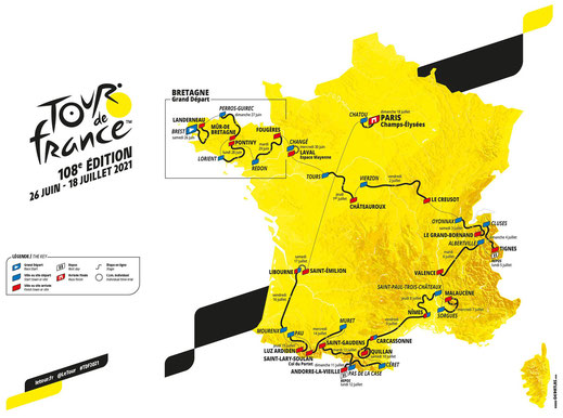Le Tour de France 2021
