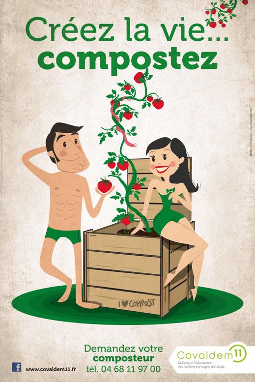 Compostage Colvadem11 - Créez la vie... compostez