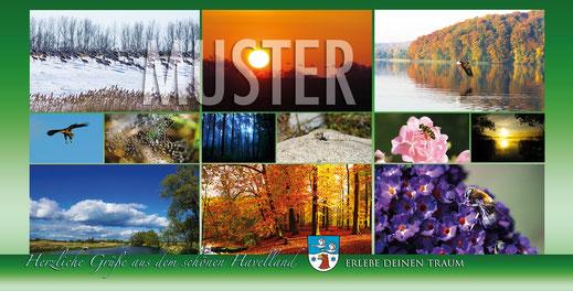 Postkarte Werbeagentur- Bergmann