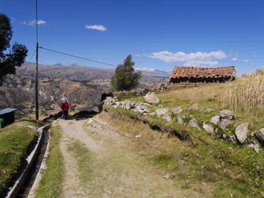 Mal ein gemächlicher Abschnitt! Cordillera Blanca, Peru (Foto Jörg Schwarz)