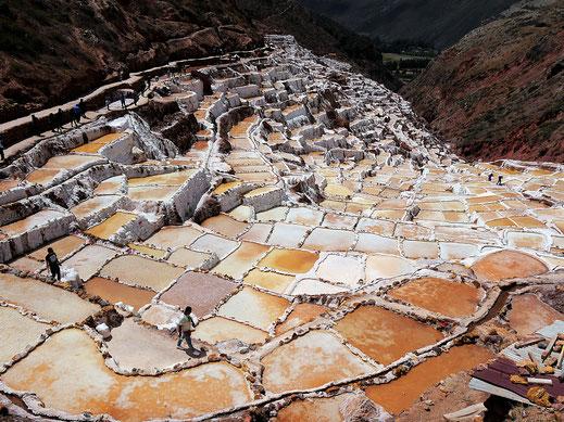 Die Salinen bei Maras, Maras, Peru (Foto Jörg Schwarz)