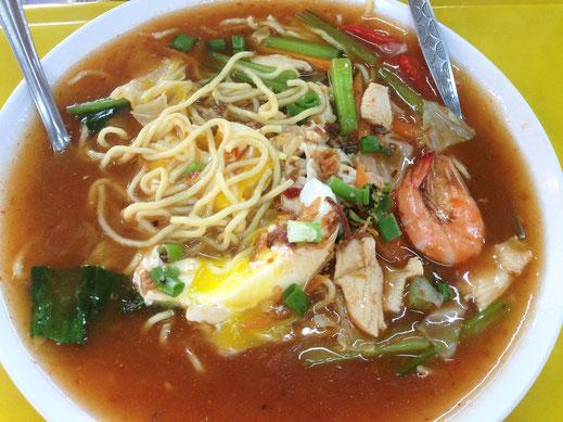 Ach, diese malaiischen Suppen... Ipoh, Malaysia (Jörg Schwarz)