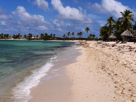Die Bucht der Playa los Cocos, Kuba (Foto Jörg Schwarz)