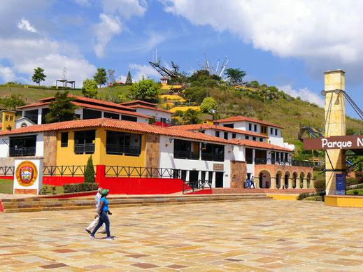 Der Nationalpark ist eigentlich ein Freizeitpark mit einer Vielzahl an Angeboten... Aratoca, Kolumbien (Foto Jörg Schwarz)