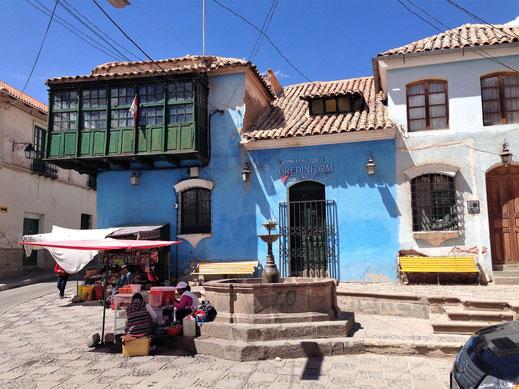 Vom einstigen Reichtum der Stadt ist heute noch viel historische Schönheit übrig, Potosí, Bolivien (Foto Jörg Schwarz)