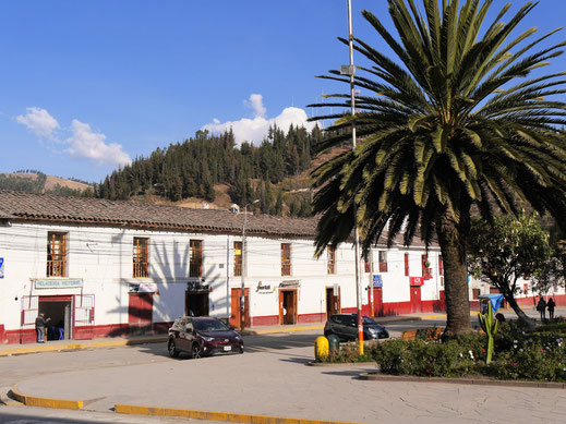 Die schöne Plaza in Andahuaylas, Andahuaylas, Peru (Foto Jörg Schwarz)