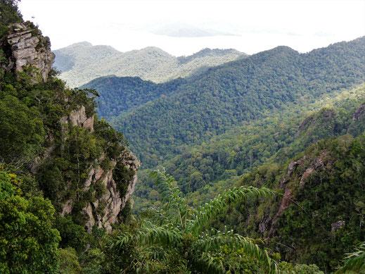 Wohin man hier oben auch blickt: Es ist atemberaubend schön! Langkawi, Malaysia (Foto Jörg Schwarz)