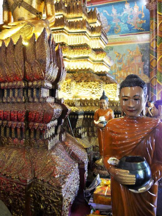 Aller Prunk und alle Pracht Buddha! Wat Phom, Phnom Penh, Kambodscha (Foto Jörg Schwarz)